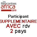 Prix HT Participant Supplementaire AVEC rdv 2 PAYS