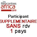 Prix HT Participant Supplementaire SANS rdv 1 PAYS