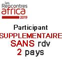Prix HT Participant Supplementaire SANS rdv 2 PAYS
