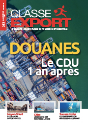 Couverture du magazine Classe Export N° 243