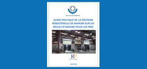 Guide pratique sur les règles d'origine pour les PMA (Pays les Moins Avancés)