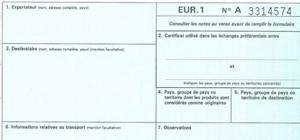 SPG : mise à jour de la liste des pays appliquant le système REX