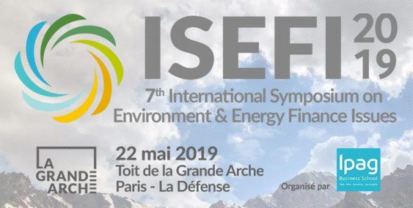 Symposium ISEFI : le financement de la transition énergétique au coeur de l'actualité