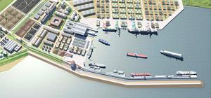 Annonce de la construction du port d'Enfidha en Tunisie