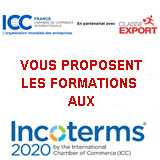 Formations Incoterms 2020