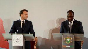 Macron-Ouattara 21 décembre à Abidjan